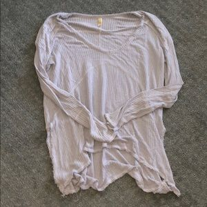Free people blue thermal like new medium
